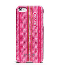 COACH TICKING STRIPE IPHONE 5 CASE