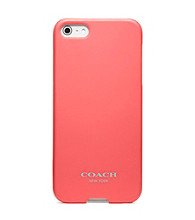 COACH SOLID IPHONE 5 CASE