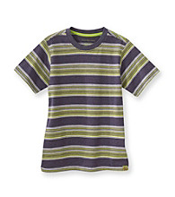 Calvin Klein Jeans® Boys' 8-20 Navy Striped Short Sleeve Fuze Tee