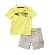 Carter's® Boys' 2T-4T Lime 2-pc. Local Cutie Shorts Set