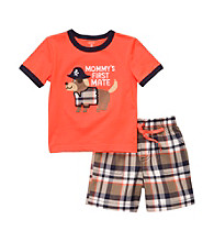 Carter's® Boys' 2T-4T Orange 2-pc.