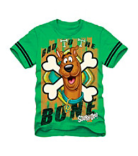Scooby-Doo® Boys' 4-7 Green Short Sleeve