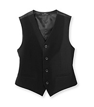 Calvin Klein Boys' 8-20 Black Bi-Stretch Vest
