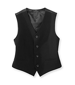 Calvin Klein Boys' 4-20 Black Bi-Stretch Vest