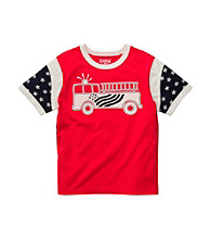 OshKosh B'Gosh® Boys' 2T-4T Red Short Sleeve Firetruck Tee