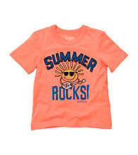 OshKosh B'Gosh® Boys' 2T-4T Orange Short Sleeve