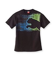 PUMA® Boys' 2T-20 Black Short Sleeve Original Sport Tee