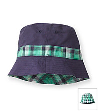 Carter's® Baby Boys' Navy/Green Reversible Bucket Hat