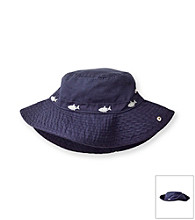 Carter's® Baby Boys' Navy Sharks Safari Hat