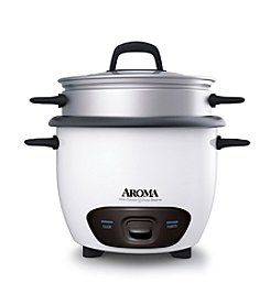 Aroma 14-Cup Rice Cooker and Food Steamer