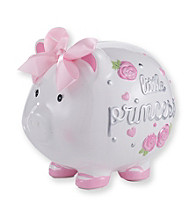 Cuddle Bear® Baby Girls' Pink Little Princess Piggy Bank
