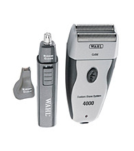 Wahl® Custom 4000 Rechargeable Cordless Shave System with Bonus Personal Trimmer
