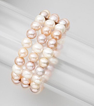 Genuine Freshwater Pearl Stretch Bracelet