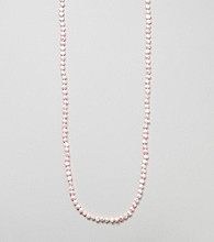 Genuine Freshwater Baroque Pearl Knotted Endless Necklace