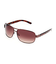 Paradise Collection® Men's Bronze Medium Pilot Sunglasses