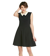 Betsey Johnson® Pearl Collar Swing Dress