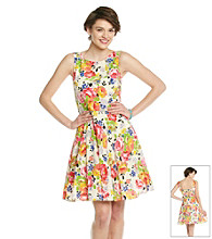 Betsey Johnson® Floral Full Skirt Dress