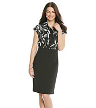 Anne Klein® Chiffon Print Top Dress