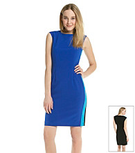 Calvin Klein Contrast Shoulder Dress