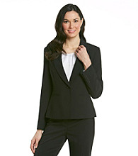 Anne Klein® Basic Single Button Jacket