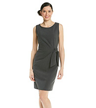 Anne Klein® Side Tie Sheath Dress