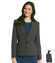 Anne Klein® Single Button Basic Jacket