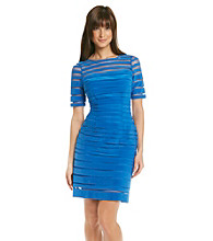 Adrianna Papell® Illusion Tuck Banded Sheath