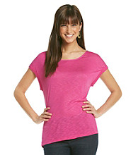 Nine West Vintage America Collection® Cuffed Sleeve Tee