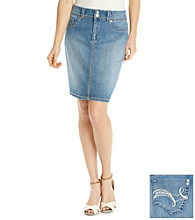 Nine West Vintage America Collection® Denim Sweetheart Skirt
