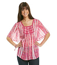 Nine West Vintage America Collection® Dawn Flutter Sleeve Tunic