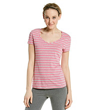 Marc New York Andrew Marc® Performance Striped Tee