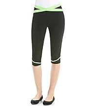 Calvin Klein Performance Criss-Cross Crop Tights