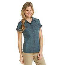 Ruff Hewn Denim Western Shirt