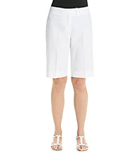Jones New York Signature® White Bermuda Short