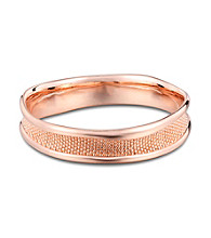 Brass Fine Silver Pltd Rosegold Flash 8