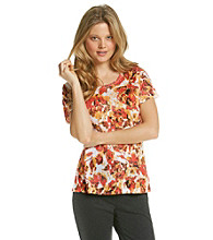 Laura Ashley® Scratch Rose Tee