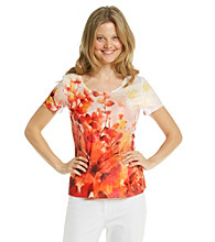 Laura Ashley® Cascade Floral Tee