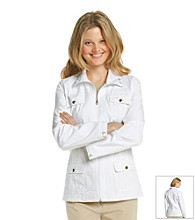 Laura Ashley® White Anorak Jacket