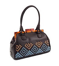 Koret™ Aztec Woven Top Framed Satchel