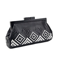 Koret™ Aztec Woven Top Framed Clutch