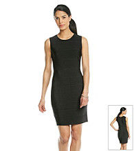 Calvin Klein Petites' Textured Solid Dress