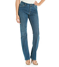 Jones New York Signature® Petites' Lexington Straight Leg Denim