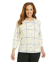 Alfred Dunner® Plus Size Sweater Cardigan