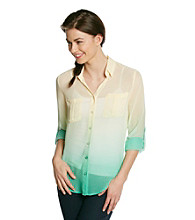 Blu Pepper™ Ombre Blouse