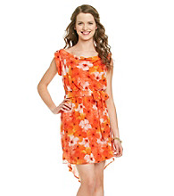 XOXO® Juniors' Drape Front Dress