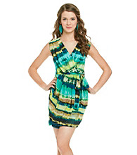 XOXO® Juniors' Wrap Front Dress