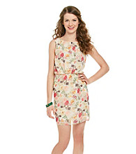 Eyeshadow® Juniors' Floral Print Dress