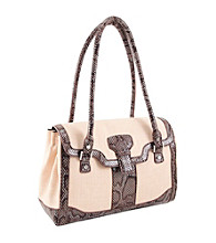 Koret™33rd & Madison Linen Breeze Satchel