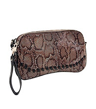 Koret™ 35th & Madison Python Power Print Clutch