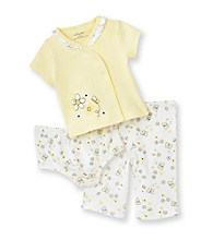 Little Me® Baby Girls' Yellow 3-pc. Daisy Pants Set